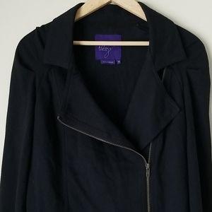 Miley Cyrus Maxazria side zip jacket size XL